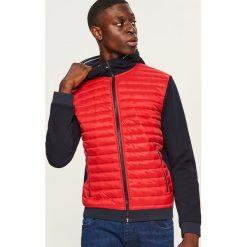 c4ef4fdbe77ac Pikowana bluza z kapturem - Czerwony. Bluzy z kapturem męskie marki Reserved.  W wyprzedaży