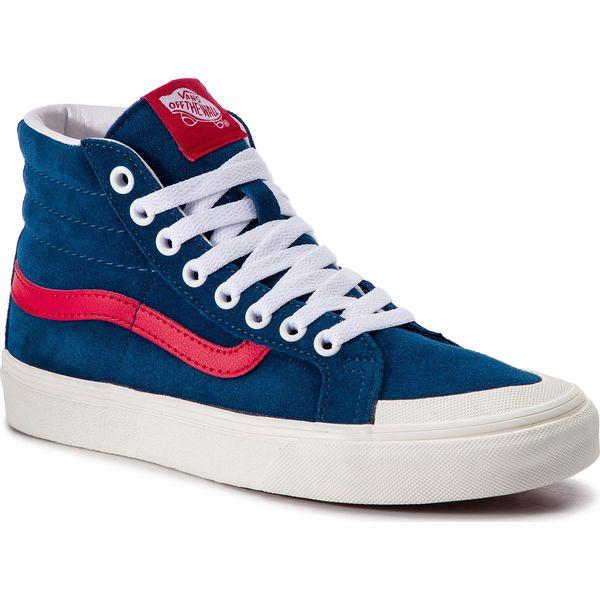 Sneakersy VANS Sk8 Hi Reissue 13 VN0A3TKPVSS1 Sailor BlueTango Red