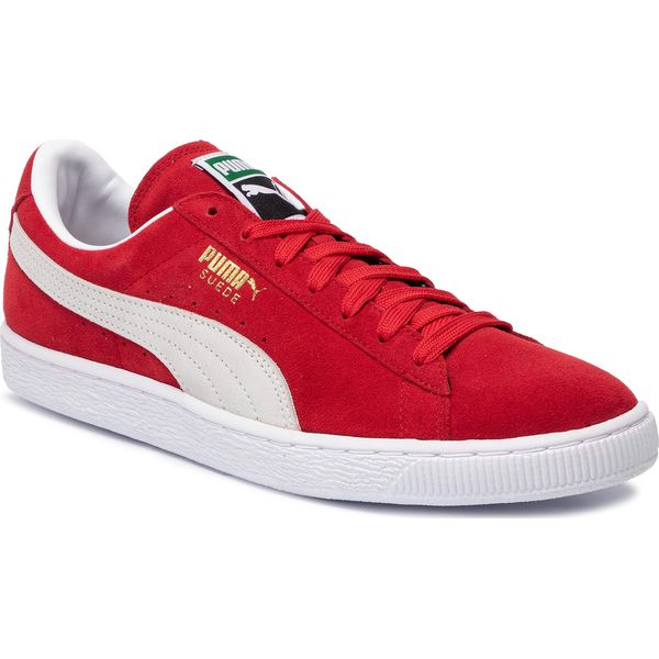 Sneakersy PUMA Suede Classic+ 352634 65 High Risk RedWhite
