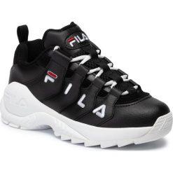 Czarne buty sportowe na co dzień męskie Fila, bez ramiączek