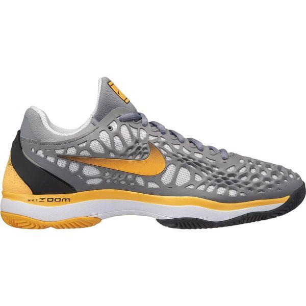 Nike buty do tenisa Zoom Cage 3 Clay Cool Grey Laser Orange Black White 44,5