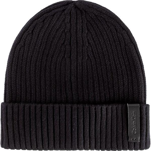 Czapka CALVIN KLEIN - Octave Hat K50K501334 001 - Czapki męskie ... b6359a2eb35e