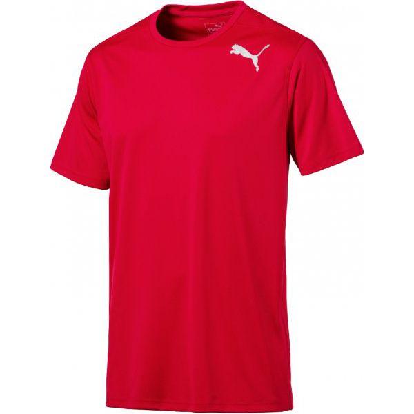 8b11a486f Puma Koszulka Sportowa Essential Ss Tee Toreador Xl - T-shirty ...