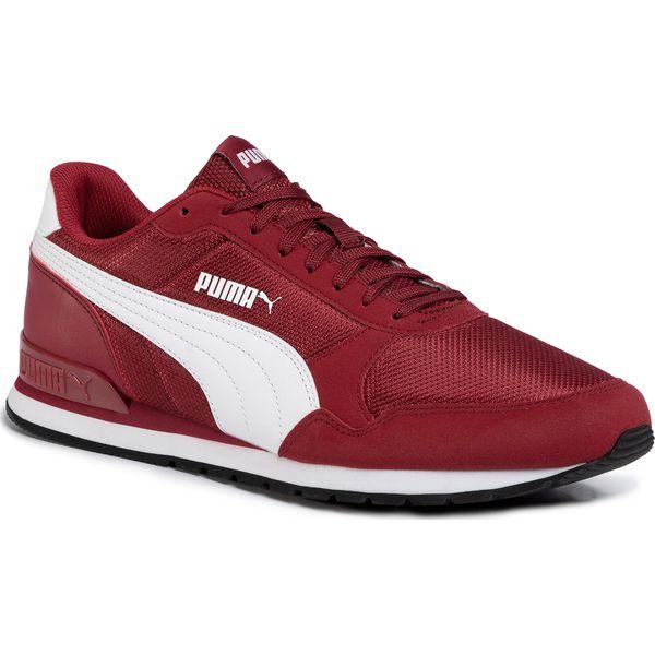 Sneakersy PUMA St Runner V2 Mesh 366811 07 RhubarbPuma White