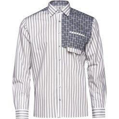 Brązowe koszule męskie VEVA, z kontrastowym kołnierzykiem  8uzQq
