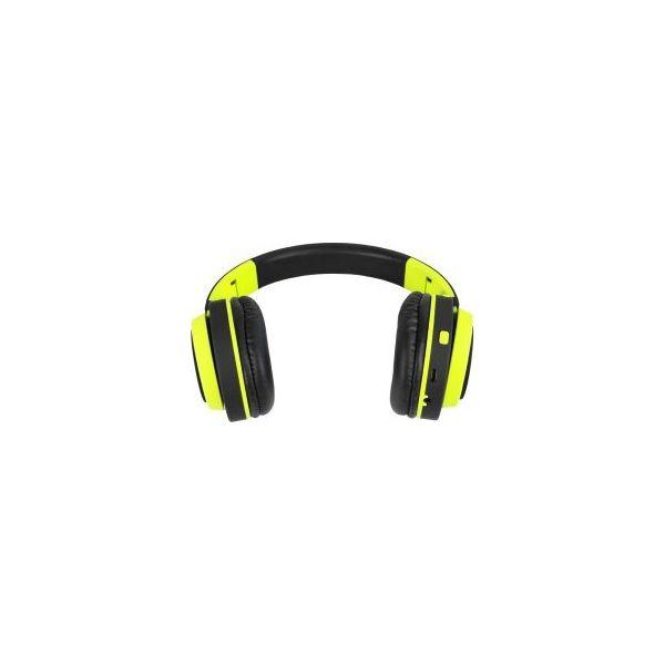 Słuchawki nauszne ART AP B04 G BT z mikrofonem Czarno zielony