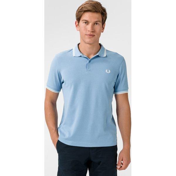 Fred Perry Polo Koszulka Niebieski