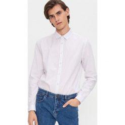 Szare koszule męskie ze sklepu House, bez kołnierzyka  SrlLJ