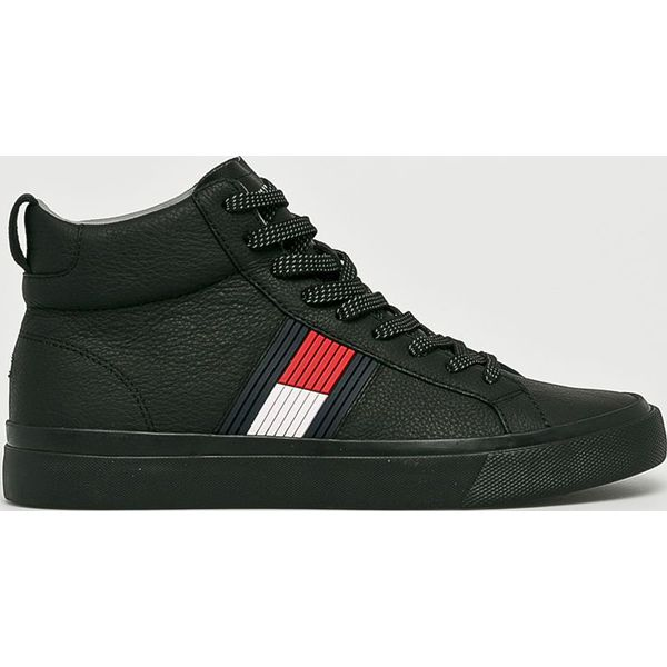 0fc26637be865 Tommy Hilfiger - Buty - Czarne buty sportowe na co dzień męskie ...