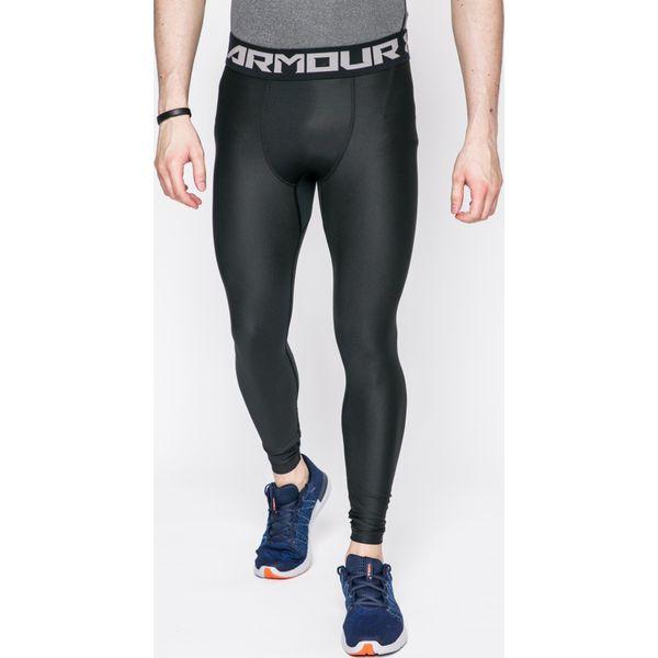 9d232d1dba4942 Under Armour - Legginsy Armour 2.0 - Czarne długie spodnie sportowe męskie  Under Armour, l, bez wzorów, z dzianiny. W wyprzedaży za 139.90 zł.