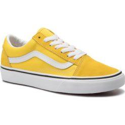 Żółte obuwie męskie Vans Kolekcja zima 2020 Sklep