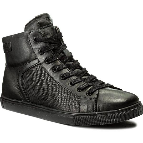 dd59cd65fa162 Sneakersy WOJAS - 6209-41 Czarny - Buty sportowe na co dzień męskie ...