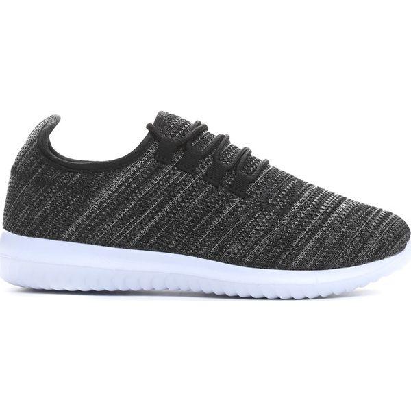 8f96b70bb8e9 Czarne Buty Sportowe Free Run - Czarne buty do biegania męskie marki  Born2be
