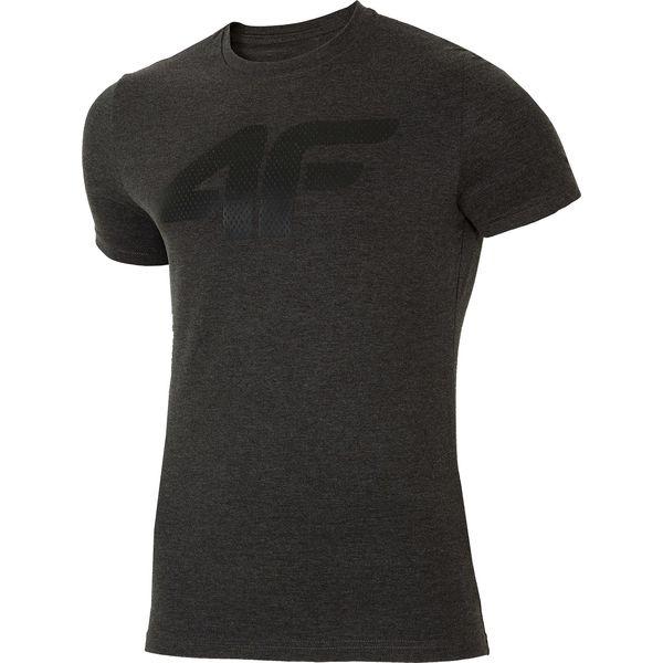 5e3746ece T-shirt męski TSM025 - ciemny szary melanż - T-shirty męskie marki ...