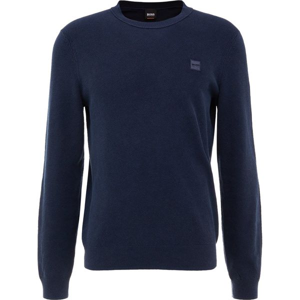 9fff8be3a1db5 BOSS CASUAL KALASSY Sweter dark blue - Swetry męskie marki BOSS ...