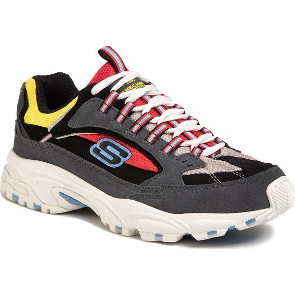 Sneakersy SKECHERS Cutback 51286CCRD CharcoalRed