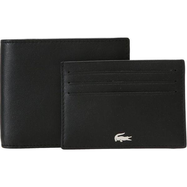 916e1b227d35a Lacoste BILLFOLD COIN BOX SET Portfel black - Portfele męskie marki ...