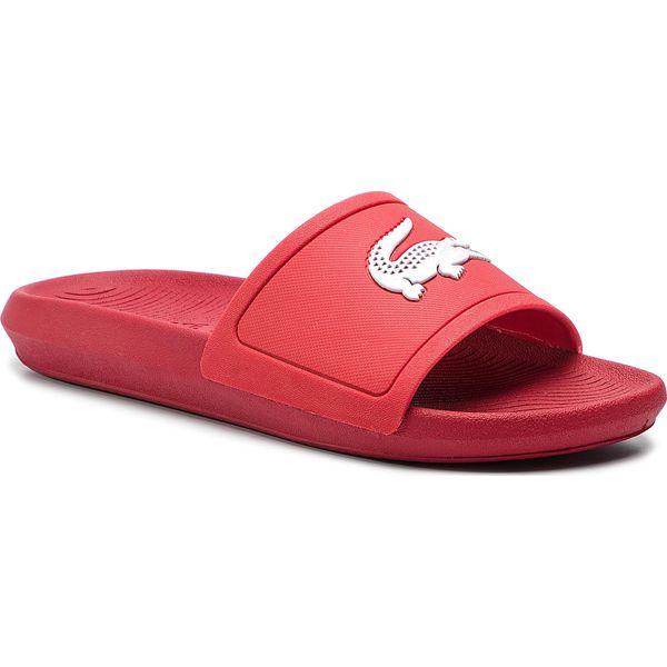 0d6871758765c Klapki LACOSTE - Croco Slide 119 1 Cma 7-37CMA001817K Red/White ...