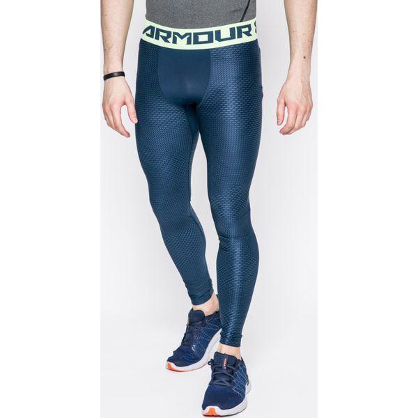 21ec7375f2804f Under Armour - Legginsy Armour 2.0 - Niebieskie długie spodnie sportowe  męskie Under Armour, m, bez wzorów, z dzianiny. W wyprzedaży za 159.90 zł.