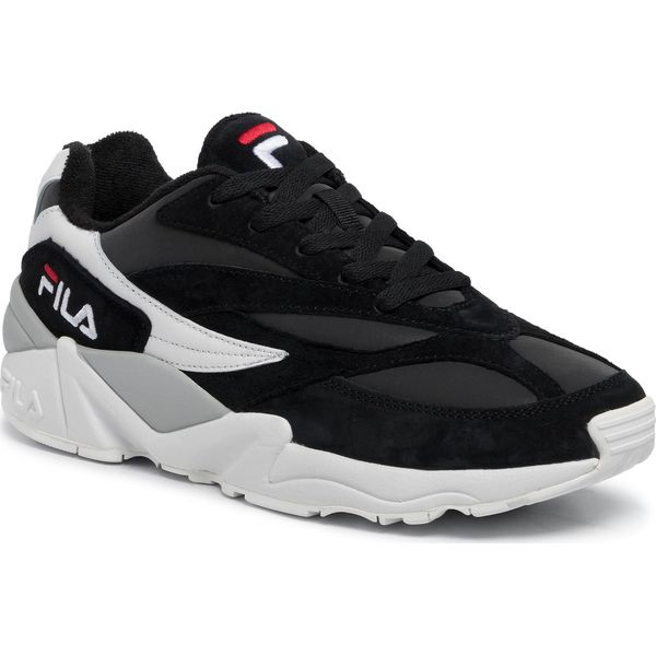 buty fila v94m low black white fil