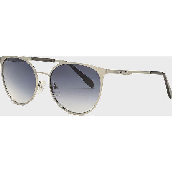 Kazar Studio Okulary Szare okulary przeciwsłoneczne