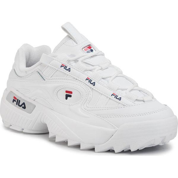 Sneakersy FILA D Formation 1010906.92N WhiteFila NAvyFila Red