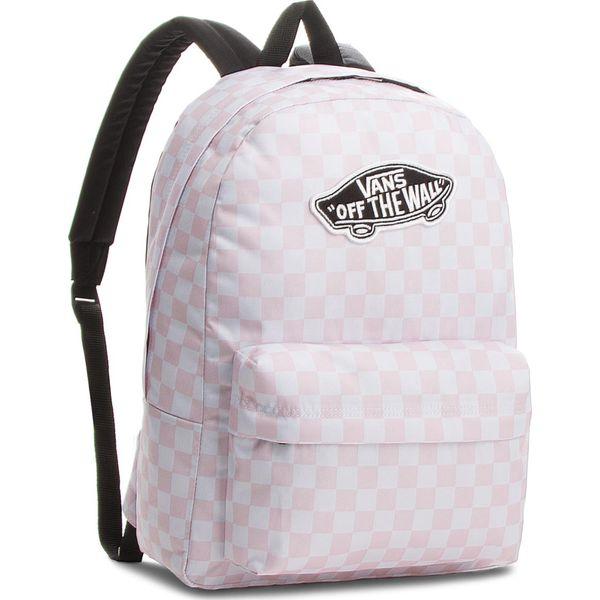 d19ce40acc6f3 Plecak VANS - Realm Backpack VN000NZ0P2A Chalk Pink 413 - Białe ...