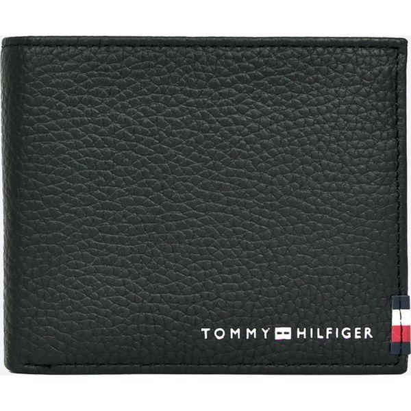 a29ce2201d855 Tommy Hilfiger - Portfel skórzany - Czarne portfele męskie marki ...