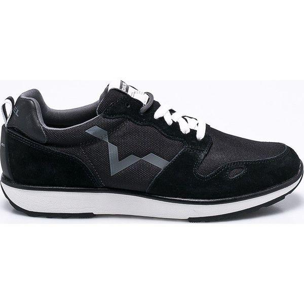 e7b7bcda Diesel - Buty - Czarne buty sportowe na co dzień męskie Diesel, z ...