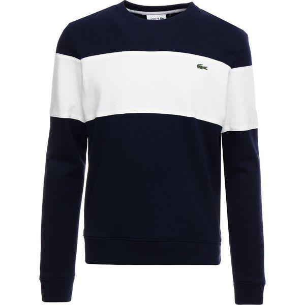 20eeb2b73f406 Lacoste Bluza marine/farine - Bluzy nierozpinane męskie marki ...