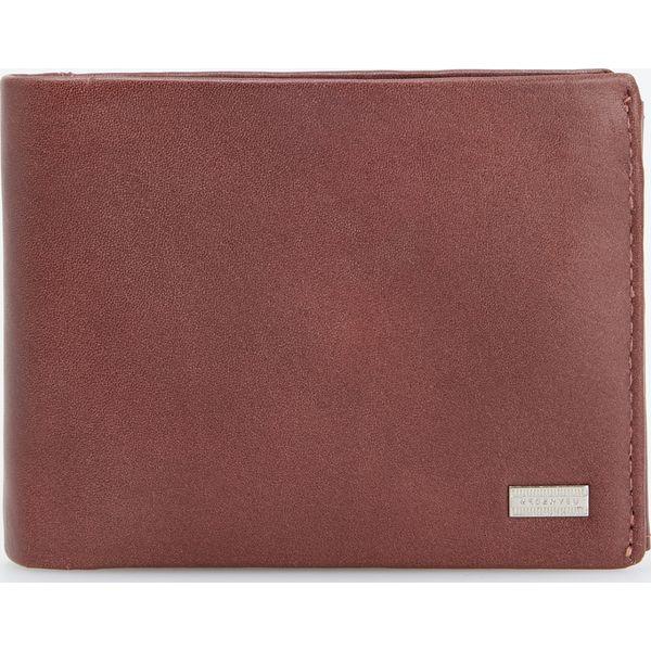 5ee7a4798c70d Skórzany portfel - Beżowy - Portfele męskie marki Reserved. Za 79.99 ...