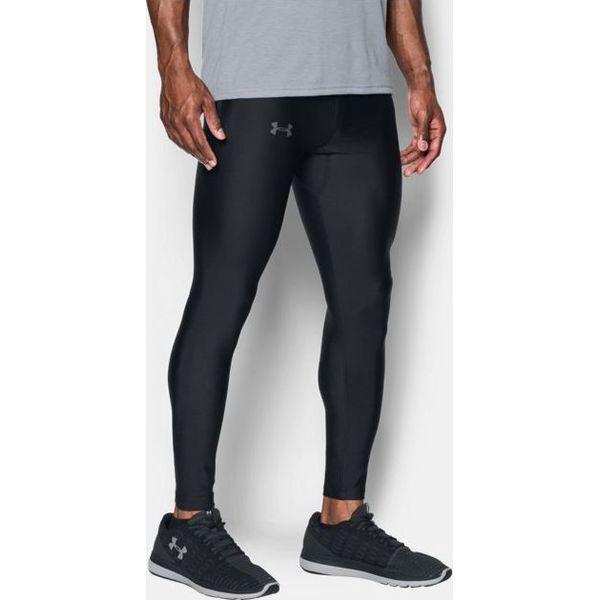 2728f8df3db0e4 Under Armour Legginsy Męskie Accelebolt Tight czarne r. S (1301780-001) -  Czarne długie spodnie sportowe męskie Under Armour, m, bez wzorów. Za  197.91 zł.