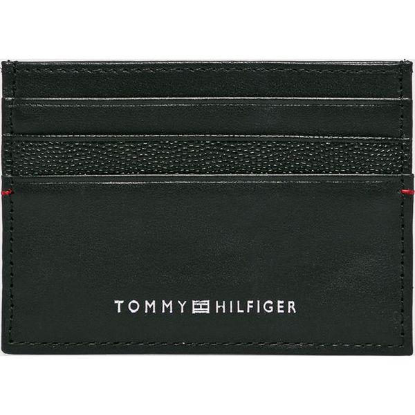 3a828132933fb Tommy Hilfiger - Portfel skórzany - Czarne portfele męskie marki ...
