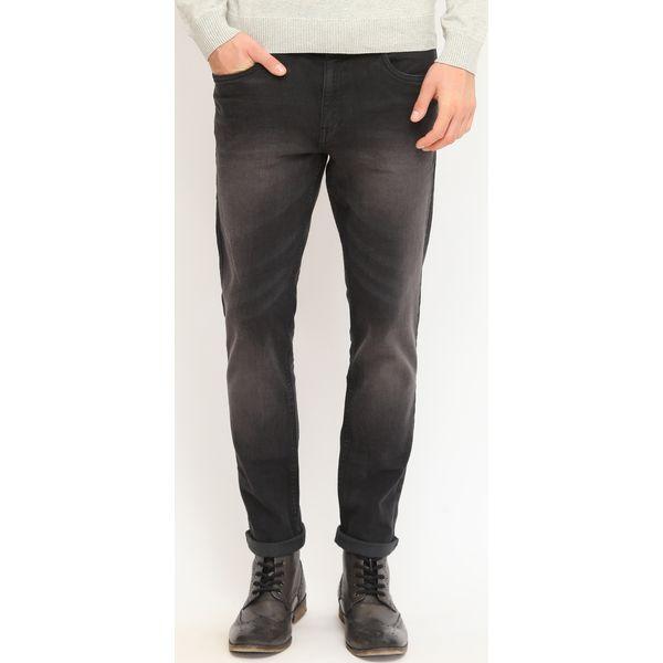 Spodnie długie męskie proste