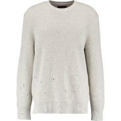cc7bda5d524c75 AllSaints IVANN CREW Sweter ecru white. Kardigany męskie AllSaints. W  wyprzedaży za 519.20 zł ...