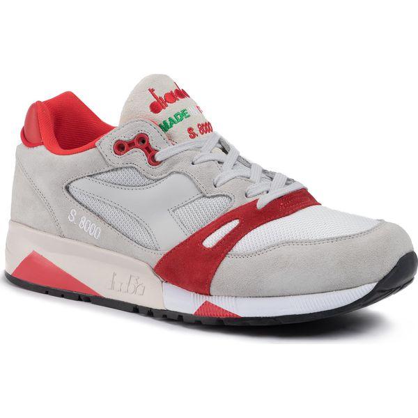 Sneakersy DIADORA S8000 Nyl Ita 501.170470 01 C6602 Lunar RockFiery Red