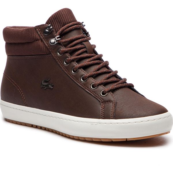Sneakersy LACOSTE Straightset Insulac 3181 Cam 7 36CAM0064DB2 Dk BrwDk Brw