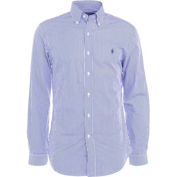 8eb3abfb1a44 Polo Ralph Lauren SEERSUCKER CUSTOM FIT Koszula blue white ...