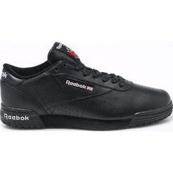 Czarne buty męskie Reebok Classic, kolekcja wiosna 2020