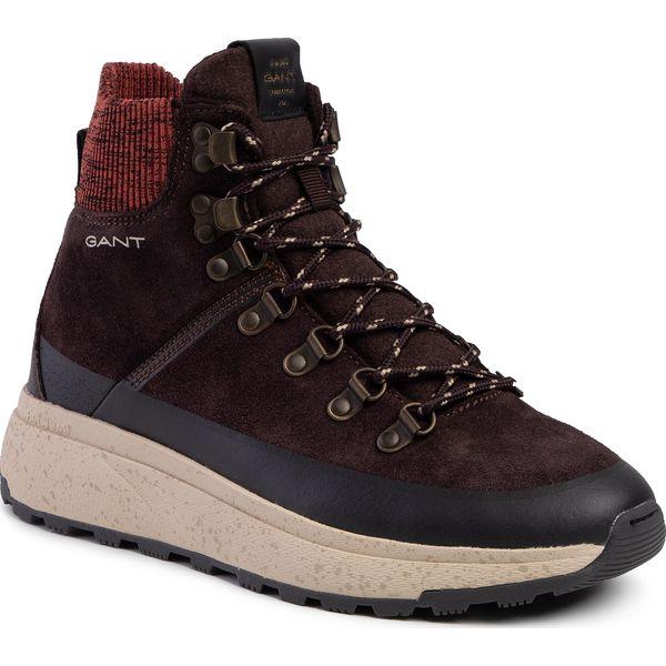 Sneakersy GANT Tomas 19643887 Dark Brown G46