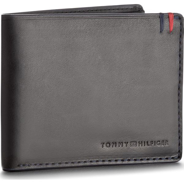 e7b16a7a28e93 Duży Portfel Męski TOMMY HILFIGER - Burnished Mini Cc Wallet ...