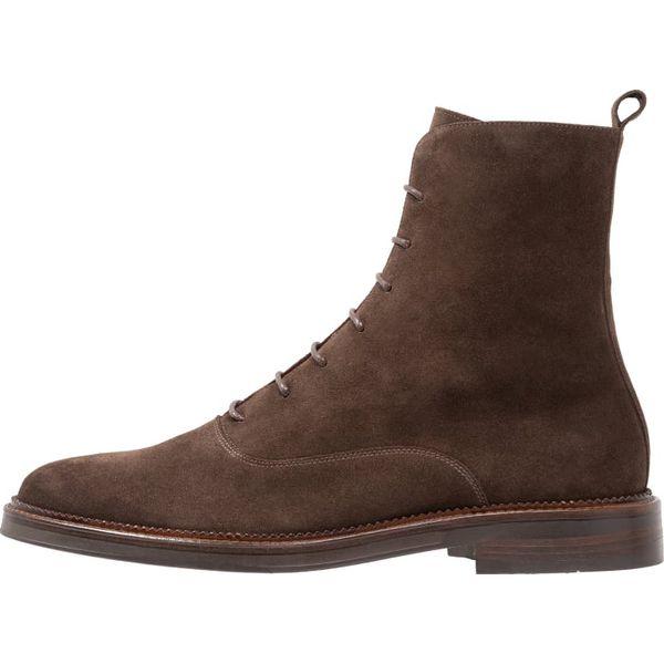 cf76c78e8779f Zign Botki sznurowane brown - Buty zimowe męskie marki Zign. W ...