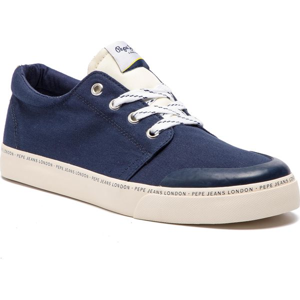 Sneakersy PEPE JEANS Traveller Basic Man PMS30541 Navy 595