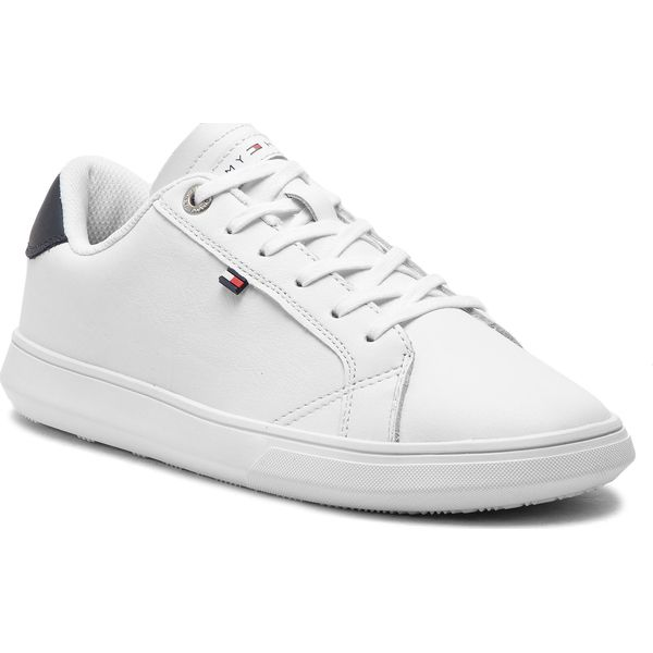 e860aa24d6403 Sneakersy TOMMY HILFIGER - Essential Leather Cupsole FM0FM01987 ...