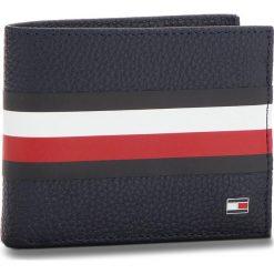 075713d10a0b0 Duży Portfel Męski TOMMY HILFIGER - Block Stripe Mini Cc AM0AM03875 413.  Niebieskie portfele męskie