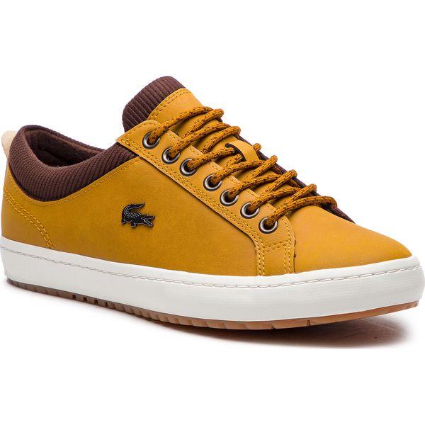5f860a8b60e0e Sneakersy LACOSTE - Straightset Insulate 3181 Cam 7-36CAM0065TB2 Tan ...