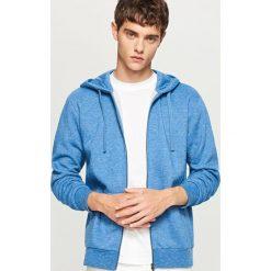 050c0822142ee Rozpinana bluza z kapturem - Niebieski. Bluzy rozpinane męskie marki  Reserved. W wyprzedaży za ...