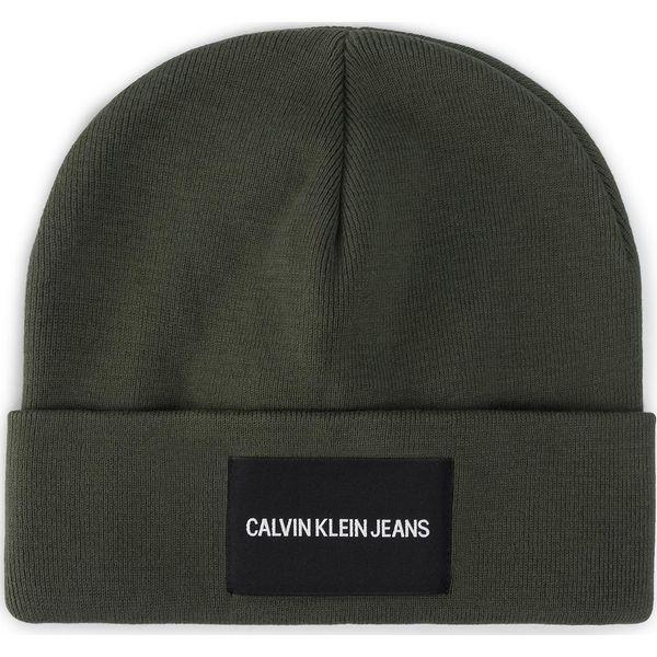 Czapka CALVIN KLEIN JEANS J Institutional Beanie K50K504935 LDD