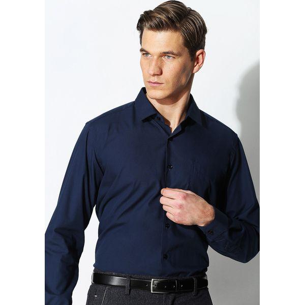 1b86b1476ff45 Granatowa Koszula Work Of Art - Niebieskie koszule męskie marki ...