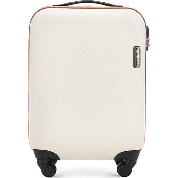 67b1b77e0d973 Walizka w kolorze jasnobeżowym - 27 l - Brązowe walizki męskie marki ...